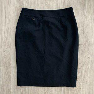 Calvin Klein 4 Skirt Black Career Pencil Straight